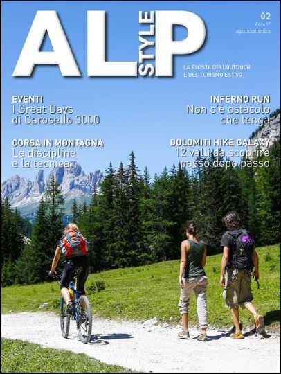 L'esperienza di Laura Colombo, istruttrice e atleta del NW agonistico, pubblicatarivista Alpstyle