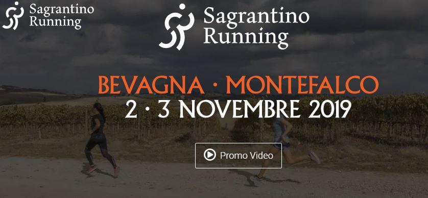 Sagrantino running – Montefalco (PG) 2 e 3 novembre 2019