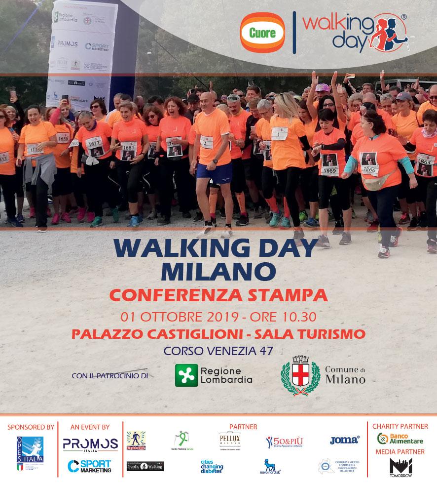 Walking Day 2019 – 19 e 20 ottobre 2019, Milano